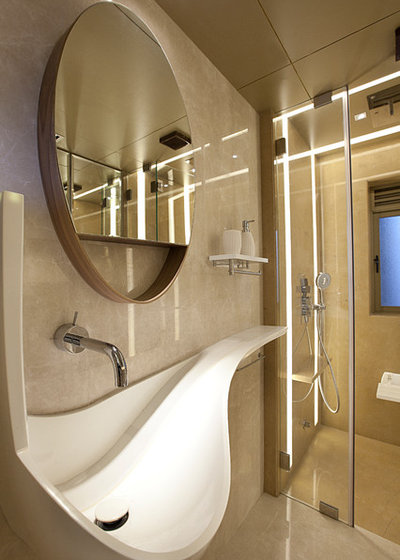 Contemporary Bathroom by The BNK Group