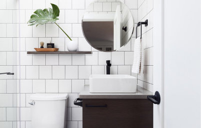 New This Week: 5 Ways to Make a 5-by-8-Foot Bathroom Look Bigger