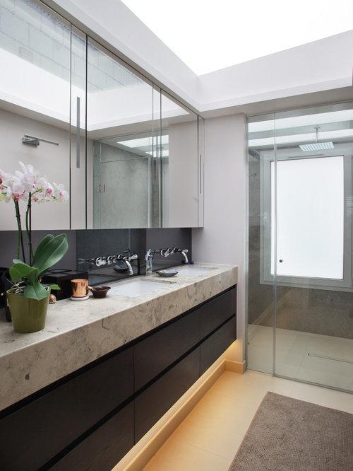 Bathroom Mirror Storage bathroom mirror storage | houzz