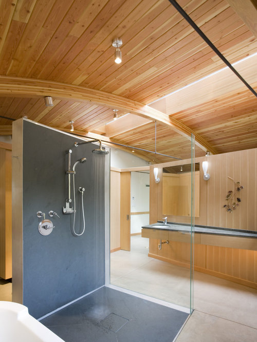 Solid Surface Shower Ideas Pictures Remodel And Decor
