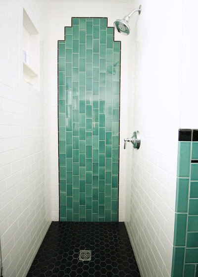 Simple Traditional Bathroom by The Property Sisters