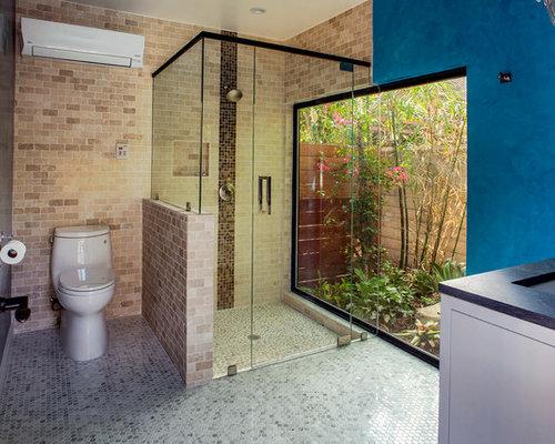 Arts and crafts bath design ideas renovations photos for Arts crafts bathroom design