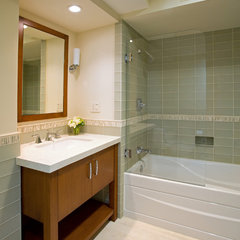 contemporary bathroom by Cynthia Bennett & Associates