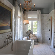 Traditional Bathroom by Maison Stone