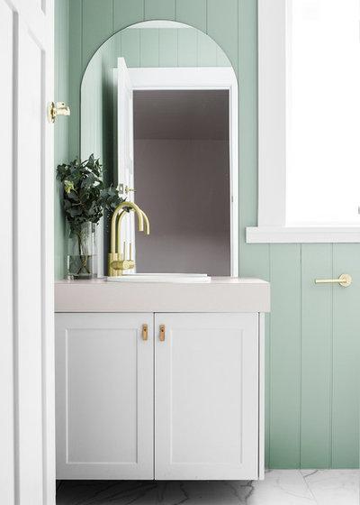 Bathroom by Lydia Maskiell Interiors