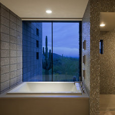 modern bathroom by Tate Studio Architects