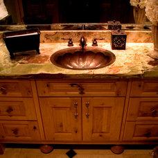 Traditional Bathroom by Stephen U Olsen Jr- Stine