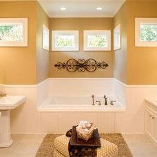 Traditional Bathroom by Assyrian Star Construction Inc