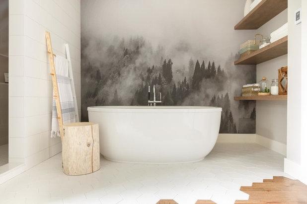 Contemporary Bathroom by Shirmar Construction