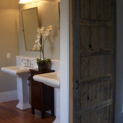 traditional bathroom by Christopher Kellie Design Inc.