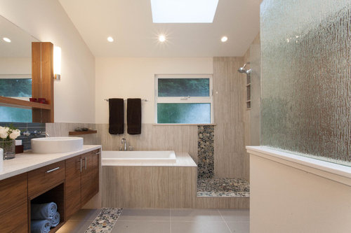 Is This Pebble Flooring Slippery In The Shower And How Hard To Clean - Tile floor slippery after cleaning