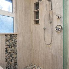 Contemporary Bathroom by Kenorah Design + Build Ltd.