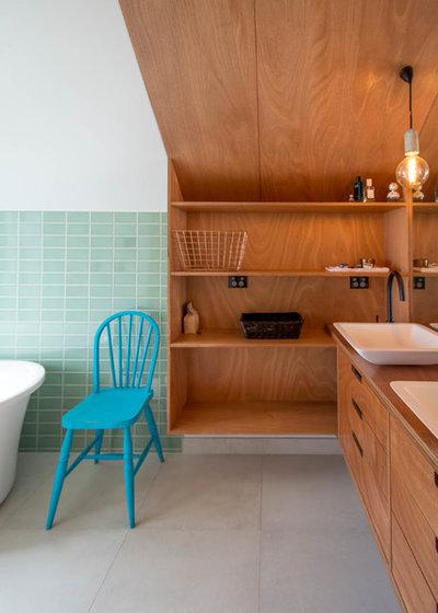 Contemporary Bathroom by Box™ Design & Build