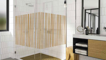 Patterned / Textured Glass Showers