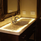 Vintage hotel style bathroom renovation traditional - Bathroom renovation order of trades ...