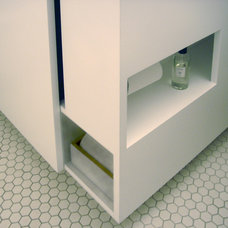 Contemporary Bathroom by Paul Michael Davis Design