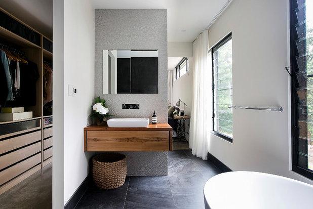 Contemporary Bathroom by Alex Urena Design Studio
