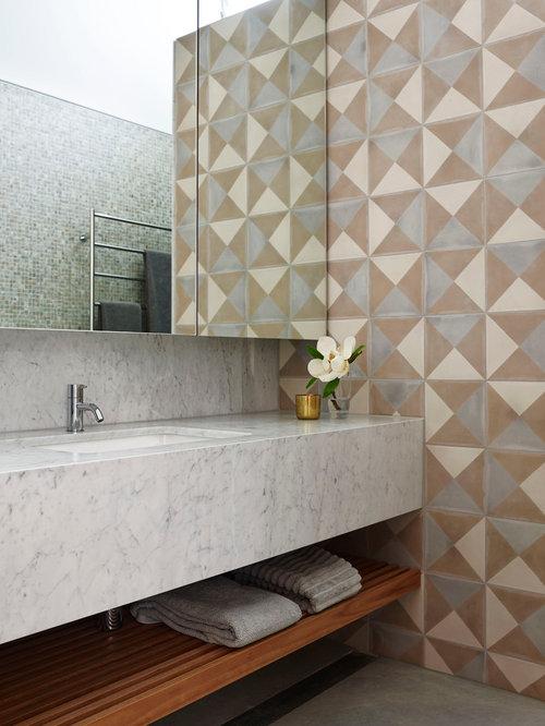 Tiled Benchtop | Houzz