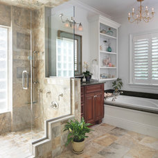 Traditional Bathroom by Kitchen Views at National