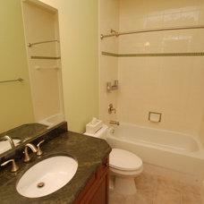 Traditional Bathroom by McCrea Construction