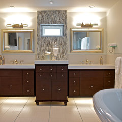traditional bathroom by van zee design interiors