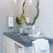 Contemporary Bathroom by Michele Dugan Design, LLC