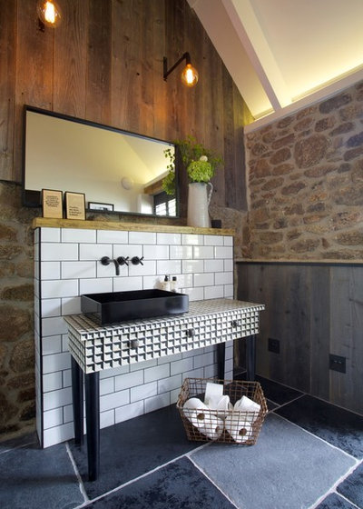 Eclectic Bathroom by Woodford Architecture and Interiors