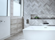 this bathroom is beautiful- can you provide tile info please?thank you