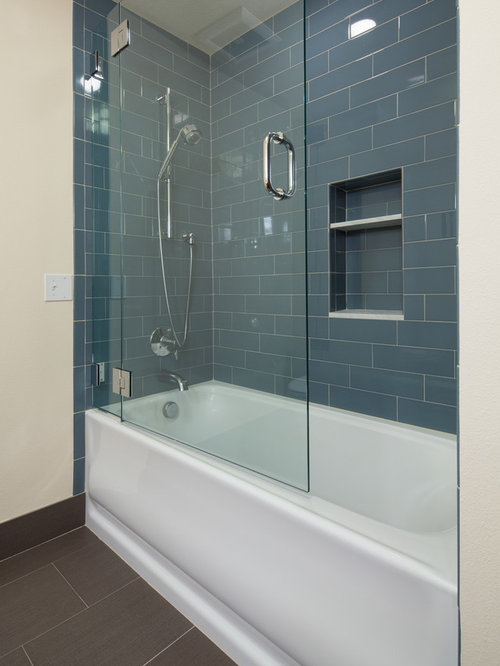 Condo bathroom remodel houzz for Condo bathroom designs