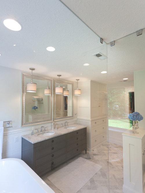 portland bathroom design ideas renovations photos with grey
