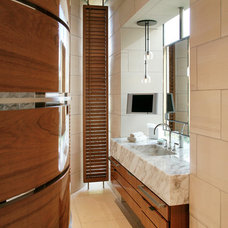 Contemporary Bathroom by BAR Architects