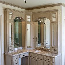 Traditional Bathroom by Annie's Designs