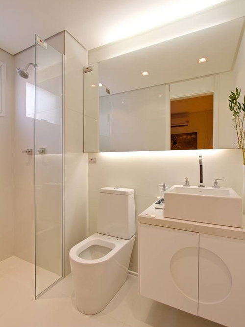 Shaker Style Cabinets Bathroom Design Ideas Renovations Photos With Wh
