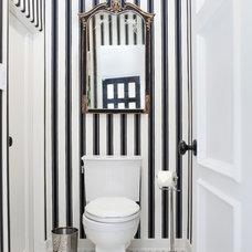 Transitional Bathroom by HOUSEplay inc