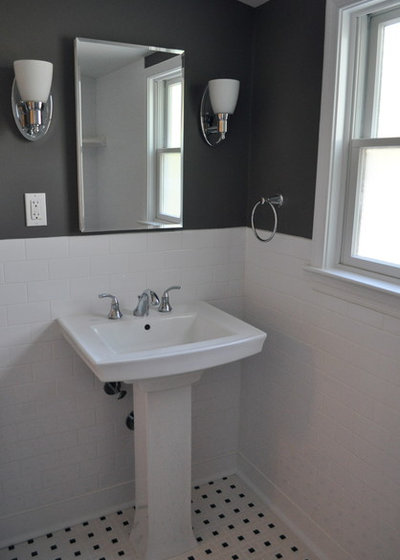 American Traditional Bathroom by TRG Home Concepts