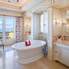 Mediterranean Bathroom by David Rance Interiors