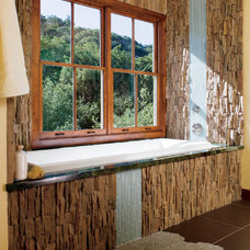 Contemporary Bathroom by Pella Windows and Doors