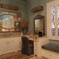mediterranean bathroom by Greg Logsdon