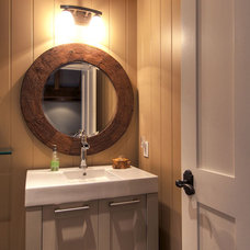 Eclectic Bathroom by Urban Rustic Living