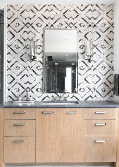 Modern Bathroom by Cornerstone Architects