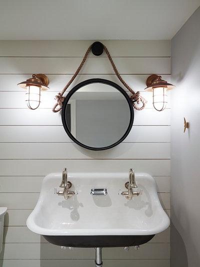 Epic Beach Style Bathroom by SHOPHOUSE