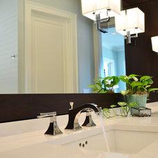 Traditional Bathroom by Sprague Construction