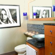 Contemporary Bathroom by Anderson Design Studio