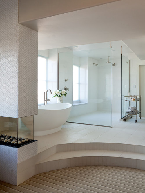 Step Up Bathroom Home Design Ideas Pictures Remodel And