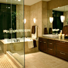 Bathroom by Lawrence Lake Interiors