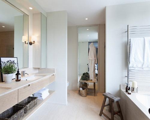 5 Gorgeous Scandinavian Bathroom Ideas: Master Bathroom Dressing Vanity Home Design Ideas