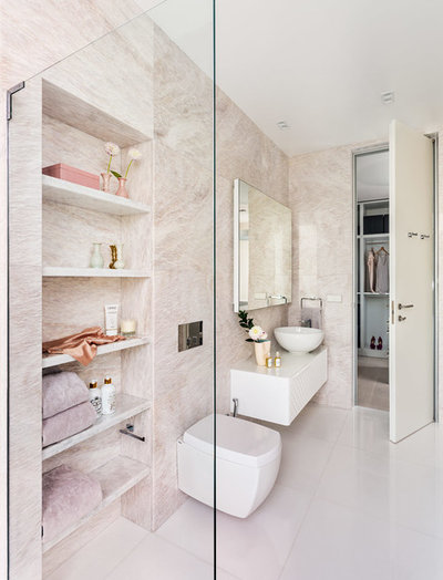 Contemporary Bathroom by KNOF design