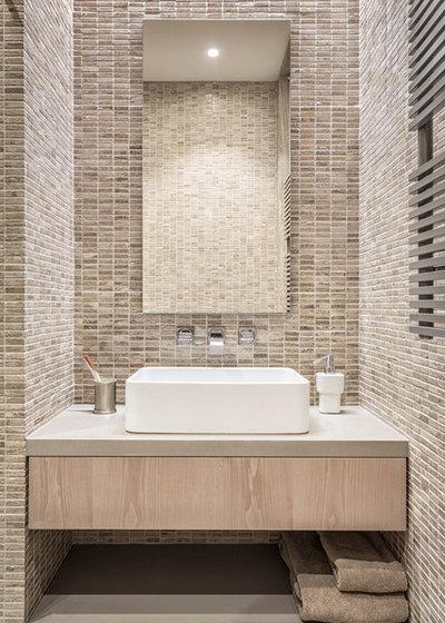 Contemporary Bathroom by KNOF design