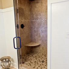 Traditional Bathroom by Jim Tibbe Homes
