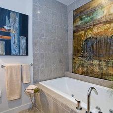 Contemporary Bathroom by Angela Todd Designs, Portland, OR